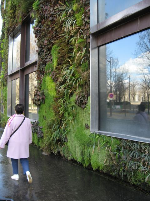 Paris: Eco-Chic at the Musee du Quai Branly; A Vertical Garden at ...