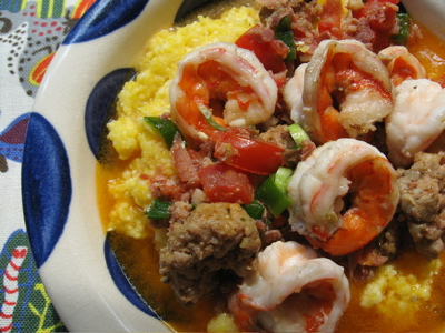Recipe Snobs Spicy Shrimp And Grits With Country Ham Tomato