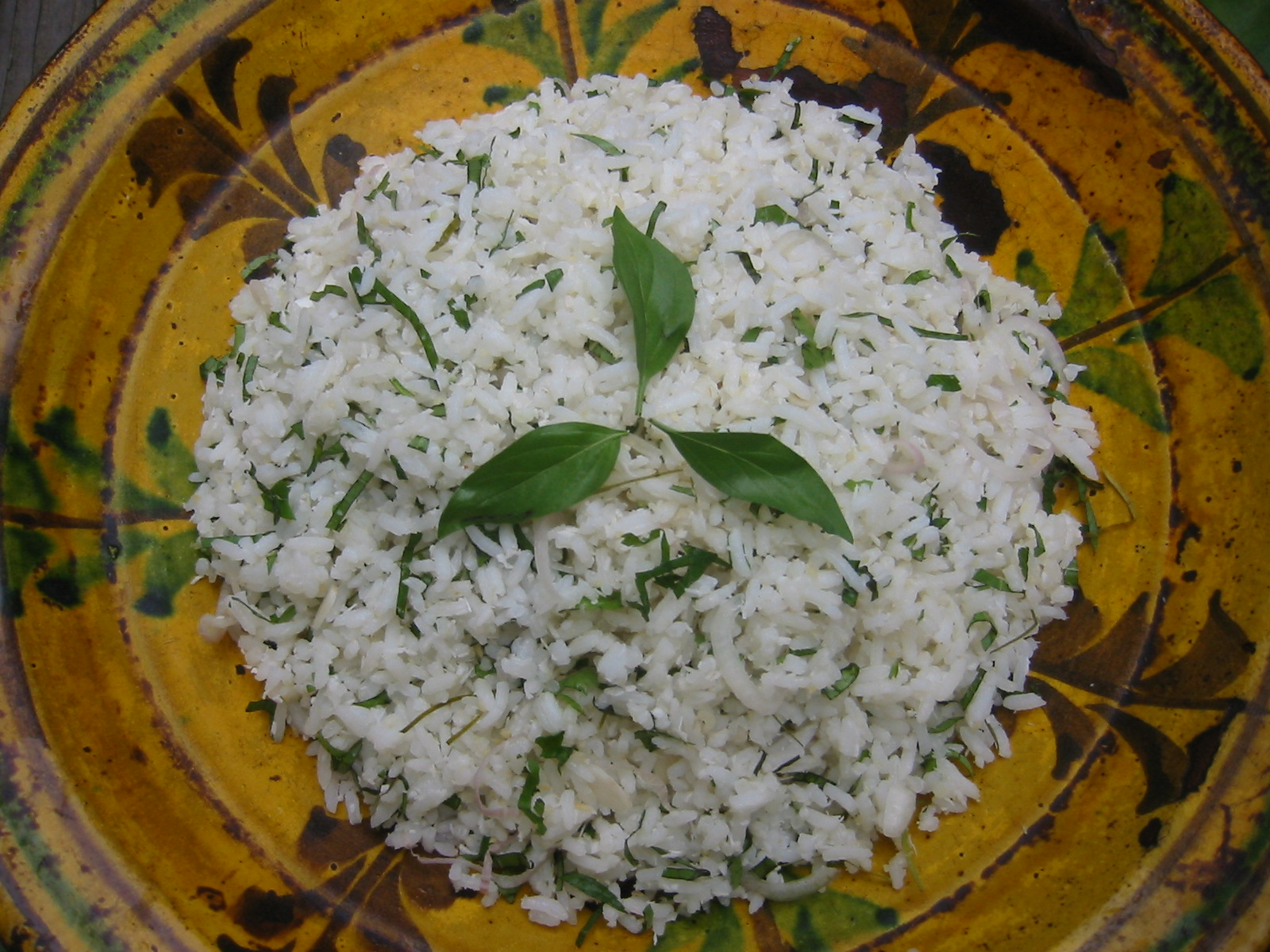 Recipe from malaysia a fragrant jasmine rice salad with lemongrass this malaysian rice salad is ideal summer fare light cooling and scented with forumfinder Image collections