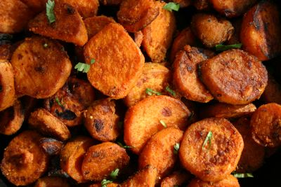 Sweet potatoes recipes indian