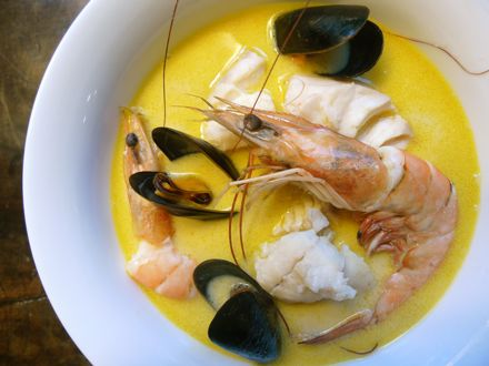 Recipe: Fish Stew with Saffron and Fennel; A Southern Take on Julia ...