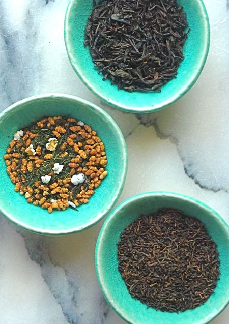 -smoked Lapsang Souchong; nutty tasting genmaicha, mixed with roasted ...
